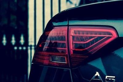 Audi A5 groen