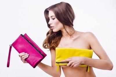 damestassen rose en geel