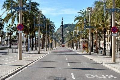 Barcelona weg