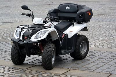 quad kleur zwart wit