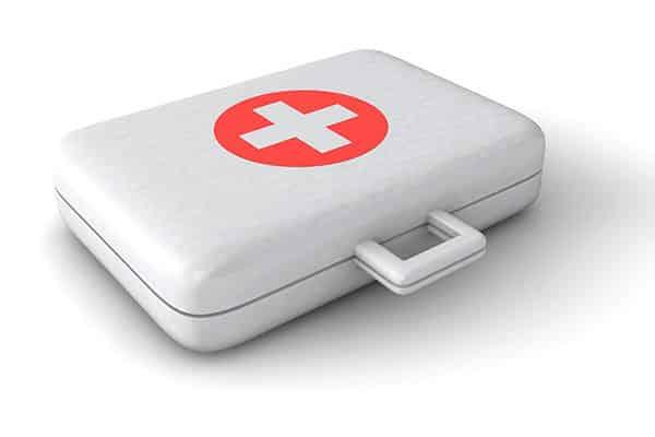 eerste hulp koffer