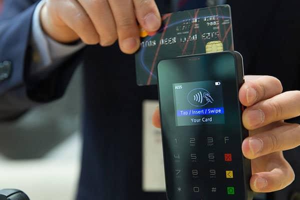 credit card betaling