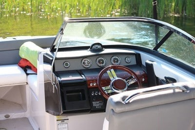 motorboot interieur