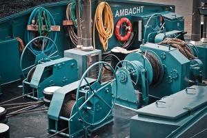 schip motoren hydraulisch