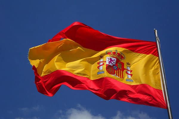 vlag Spanje
