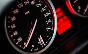 bmw snelheidsmeter